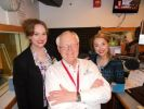 While in Chicago, Carrie and Stacie were on Moody Radio with host, Mark Elfstrand